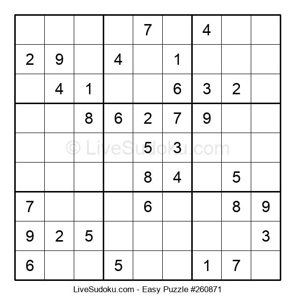 Beginners Puzzle #260871