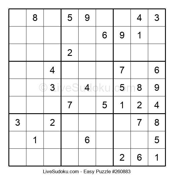 Beginners Puzzle #260883