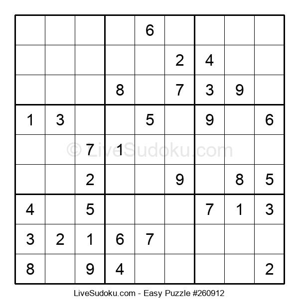 Beginners Puzzle #260912