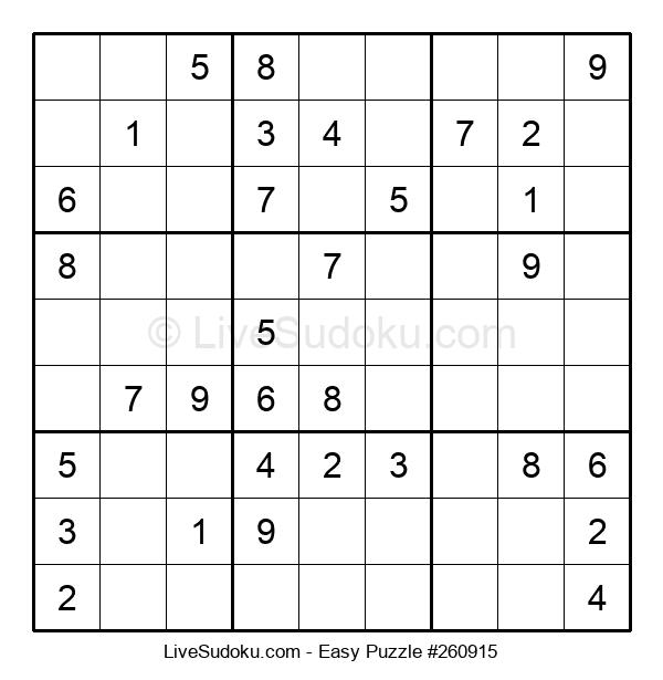 Beginners Puzzle #260915