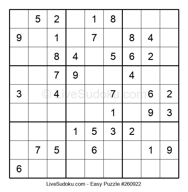 Beginners Puzzle #260922