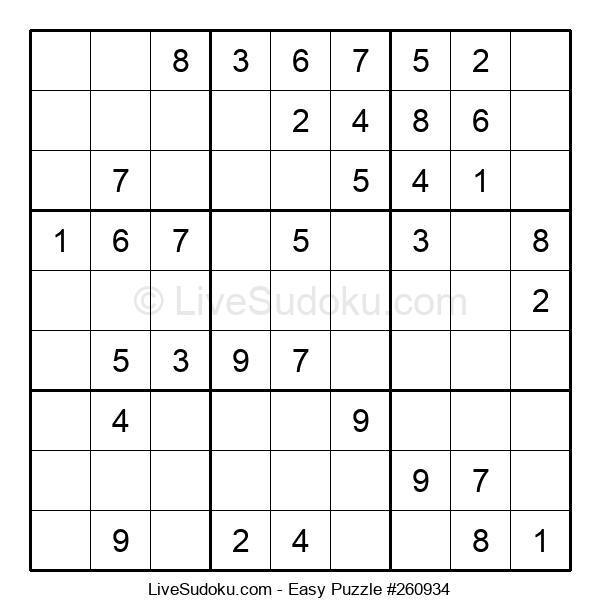 Beginners Puzzle #260934
