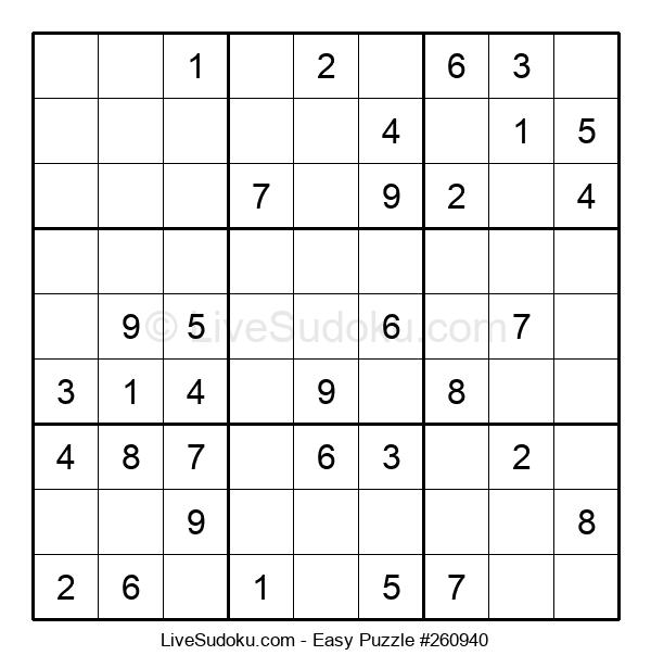 Beginners Puzzle #260940