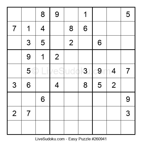 Beginners Puzzle #260941