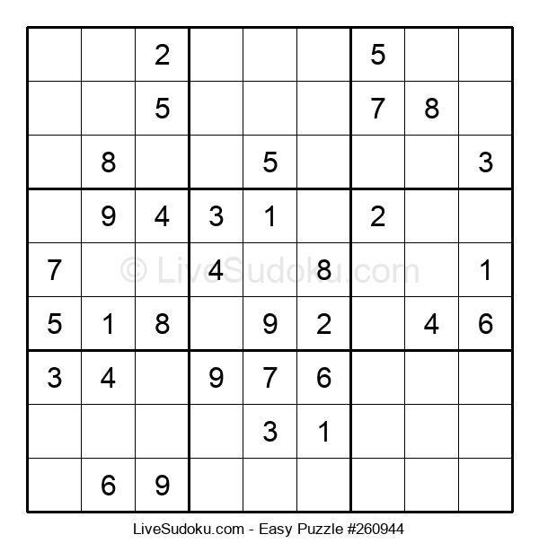 Beginners Puzzle #260944