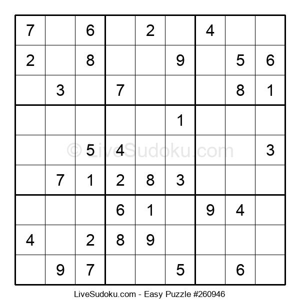 Beginners Puzzle #260946