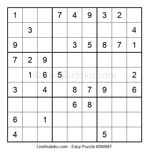 Beginners Puzzle #260947