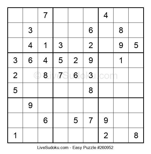 Beginners Puzzle #260952