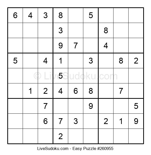 Beginners Puzzle #260955