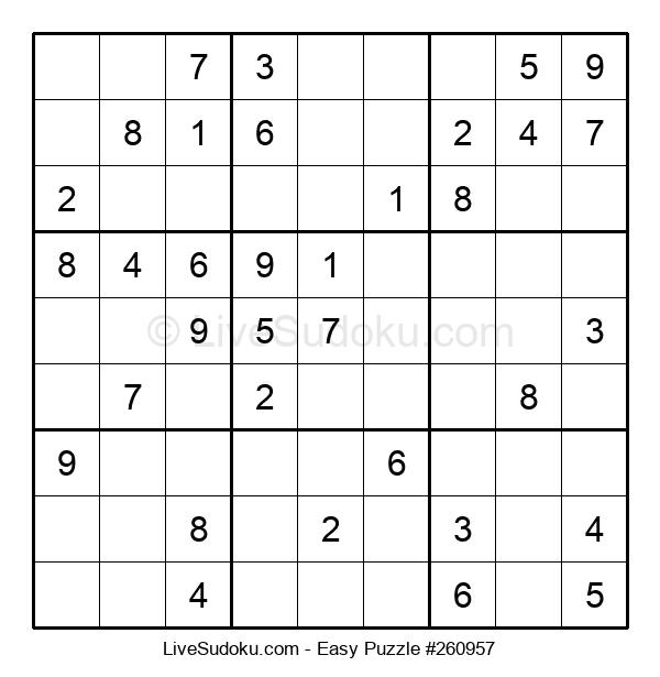 Beginners Puzzle #260957
