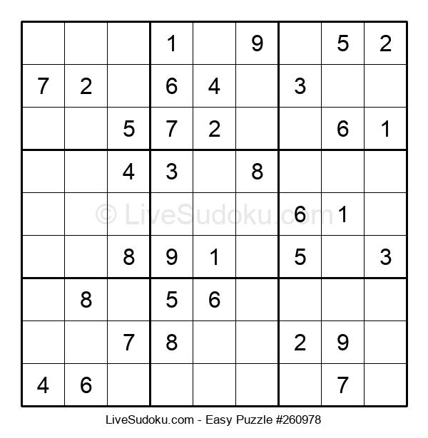 Beginners Puzzle #260978