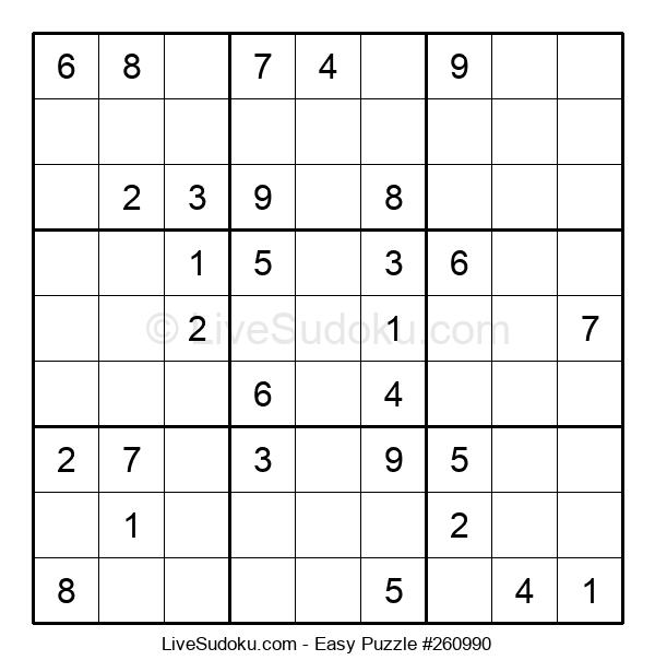Beginners Puzzle #260990