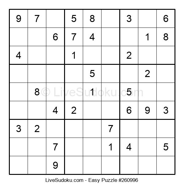 Beginners Puzzle #260996
