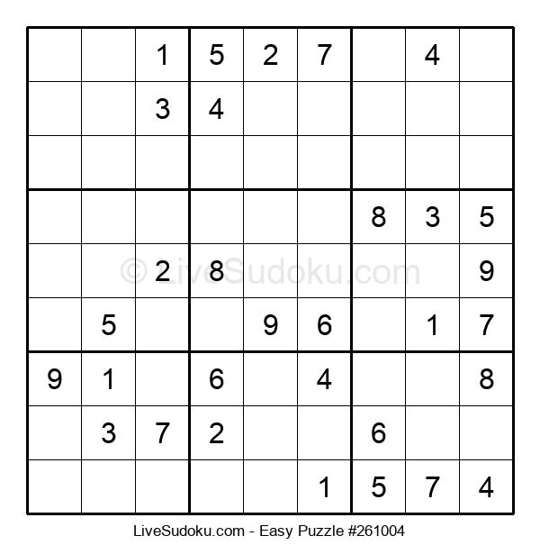 Beginners Puzzle #261004