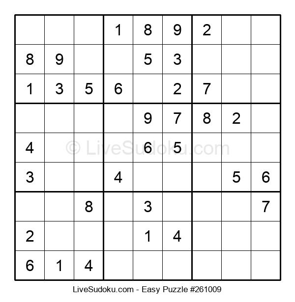 Beginners Puzzle #261009