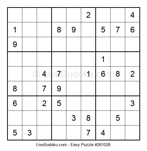 Beginners Puzzle #261028