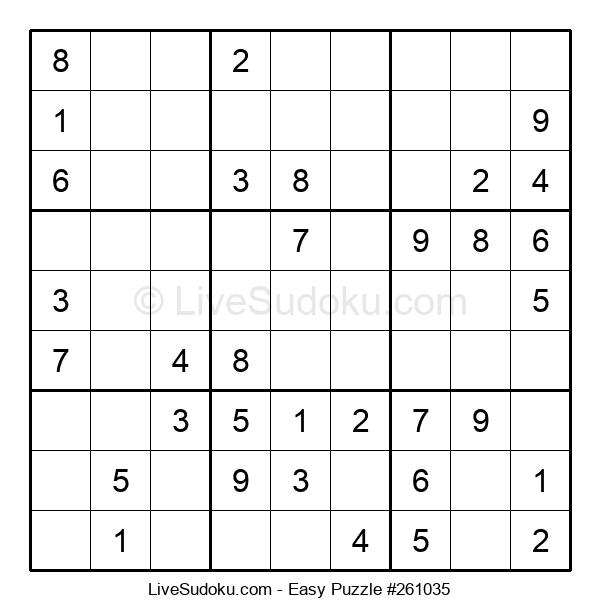Beginners Puzzle #261035