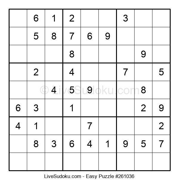 Beginners Puzzle #261036