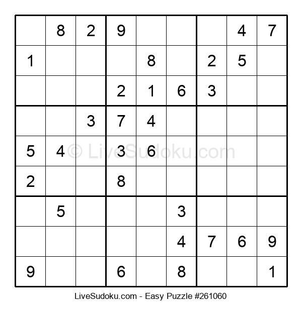 Beginners Puzzle #261060
