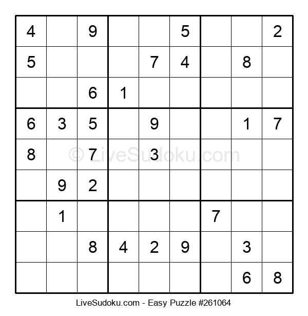 Beginners Puzzle #261064