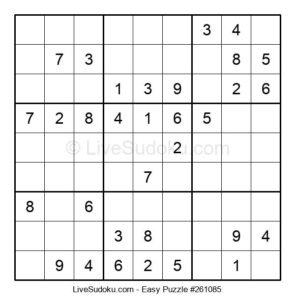 Beginners Puzzle #261085