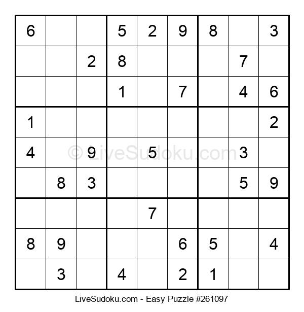 Beginners Puzzle #261097