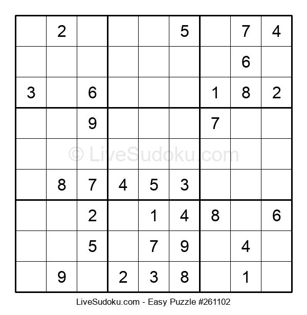 Beginners Puzzle #261102
