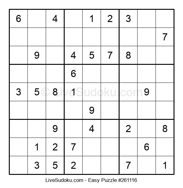 Beginners Puzzle #261116