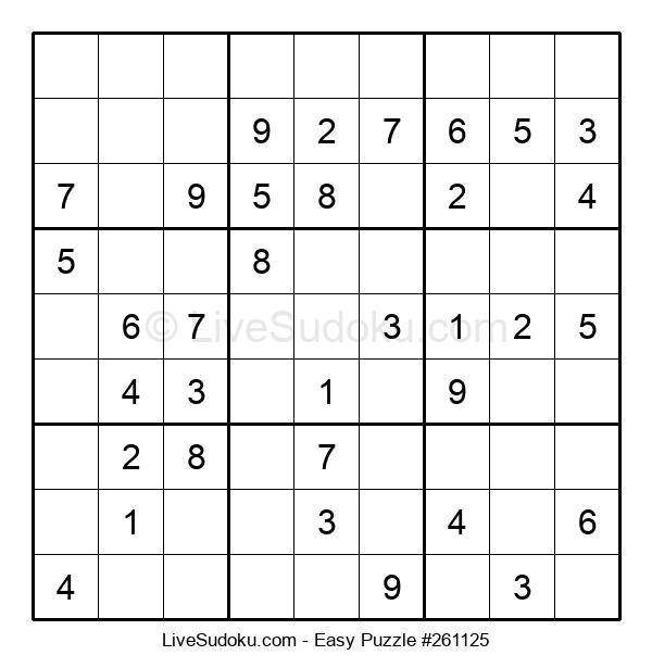Beginners Puzzle #261125