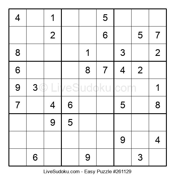 Beginners Puzzle #261129
