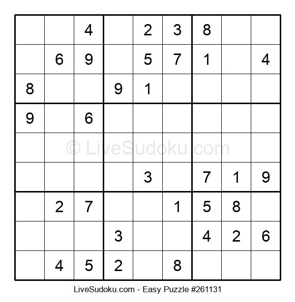 Beginners Puzzle #261131