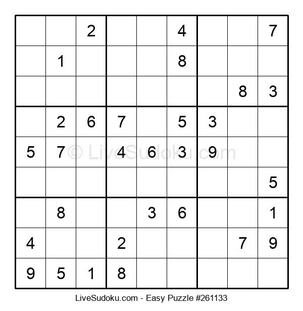 Beginners Puzzle #261133