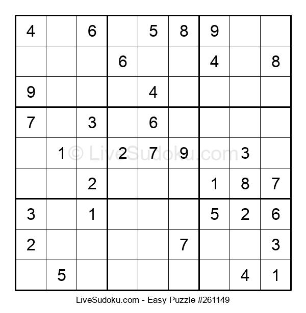 Beginners Puzzle #261149