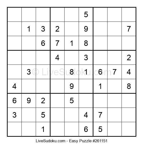 Beginners Puzzle #261151