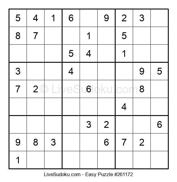 Beginners Puzzle #261172