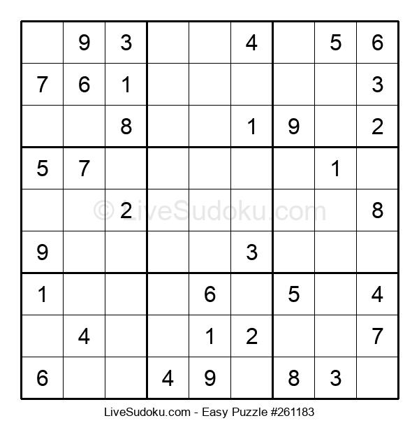Beginners Puzzle #261183