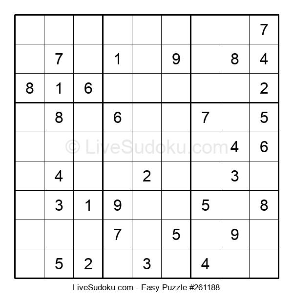 Beginners Puzzle #261188
