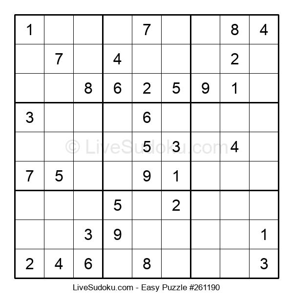 Beginners Puzzle #261190