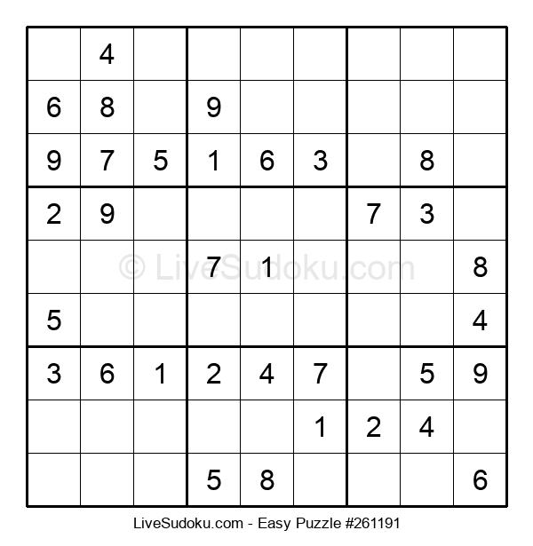 Beginners Puzzle #261191