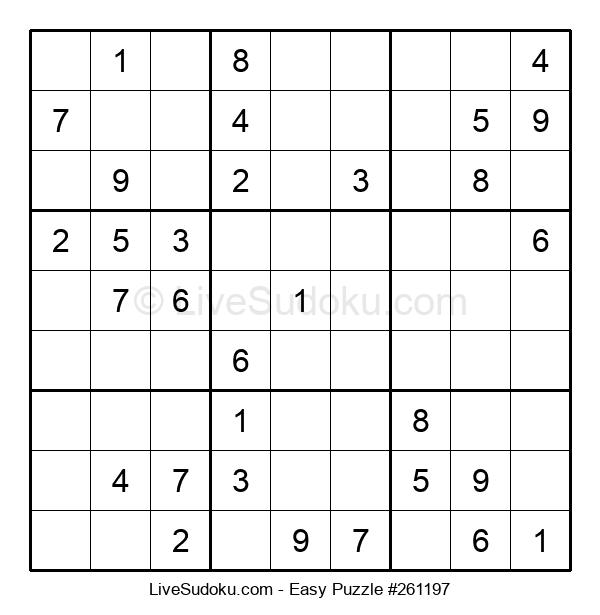 Beginners Puzzle #261197