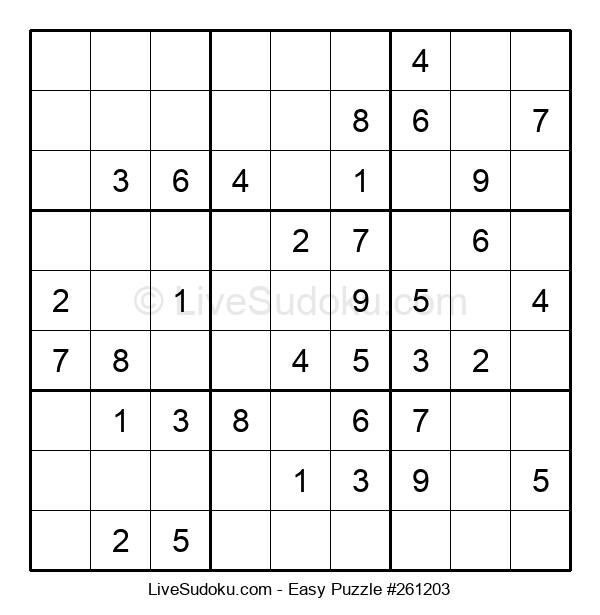 Beginners Puzzle #261203