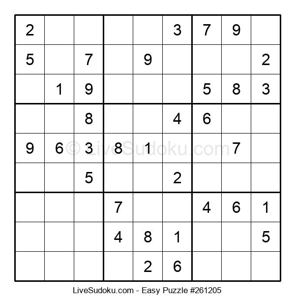 Beginners Puzzle #261205