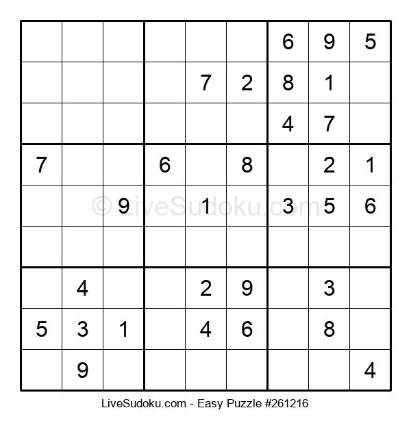 Beginners Puzzle #261216