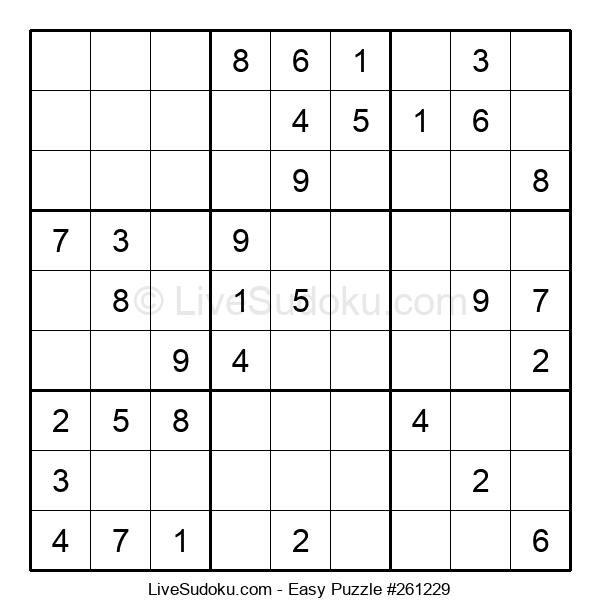 Beginners Puzzle #261229