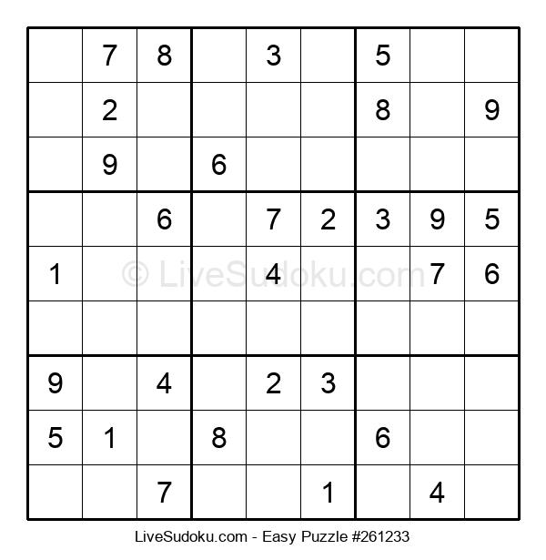 Beginners Puzzle #261233