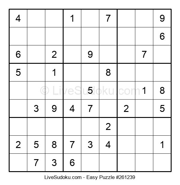 Beginners Puzzle #261239