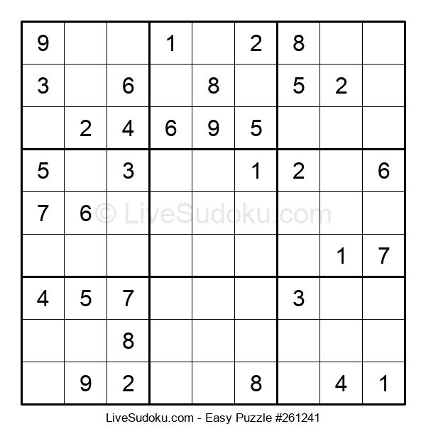 Beginners Puzzle #261241