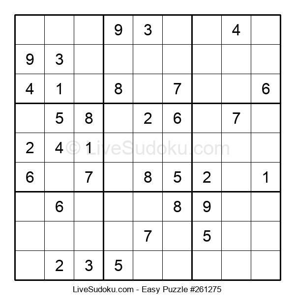 Beginners Puzzle #261275