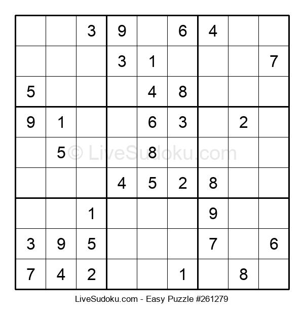 Beginners Puzzle #261279