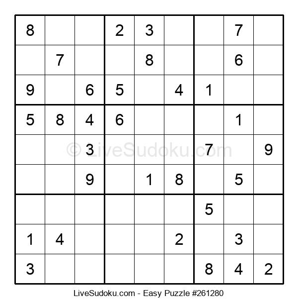 Beginners Puzzle #261280